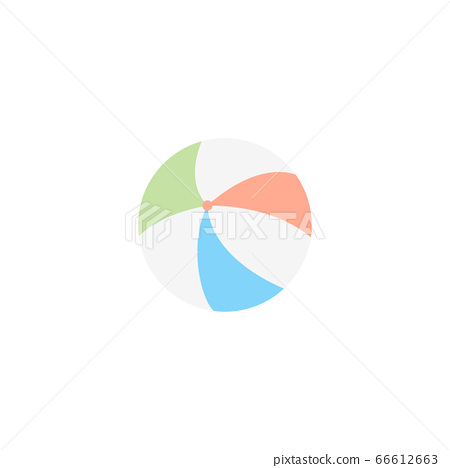 ball baloon summer icon design clipart stock illustration 66612663 pixta pixta