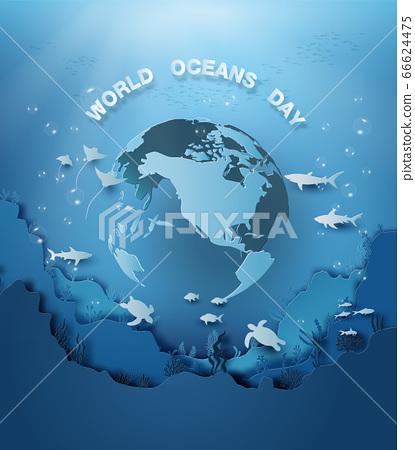wildlife under sea 66624475