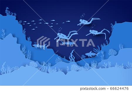 wildlife under sea 66624476