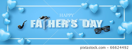 Happy Father's Day greeting card 66624492
