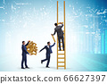 Concept of cooperation in business 66627397