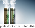 Concept of carbon tax in ecology concept - 3d rendering 66628464