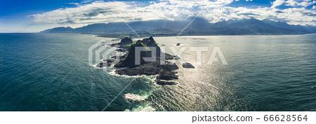 Aerial view Sanxiantai Recreation Area. Famous 66628564