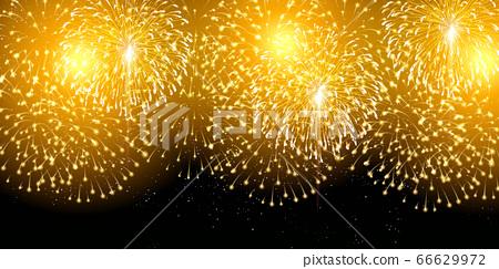 불꽃 놀이 여름 축제 배경 66629972