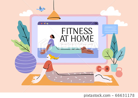 Workout at home 66631178