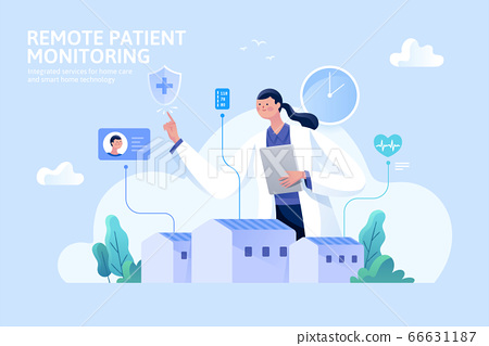 Remote patient monitoring 66631187