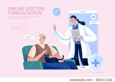Online doctor consultation 66631188