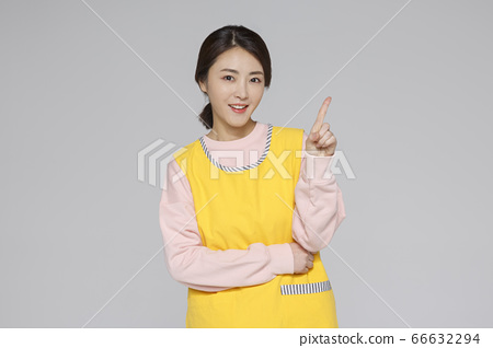 Businesswoman concept, Asian female portrait in a studio 006 66632294