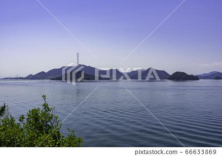 토끼 섬 大久野島과 小久野島 히로시마 현 다케하라시 66633869