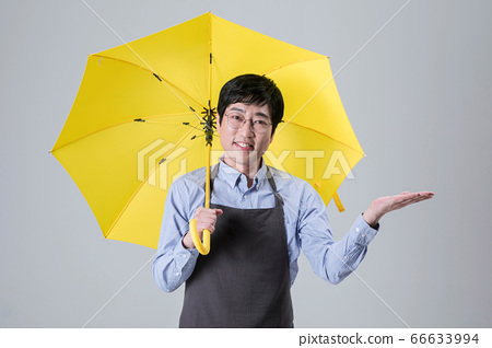 A studio portrait of Asian man making a confident smile 119 66633994