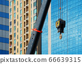 Construction crane With a background of tall 66639315