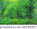 玻璃上的水滴9 66648903