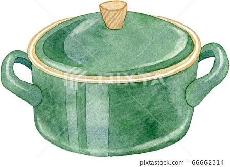 녹색 냄비 66662314