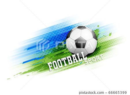 Football Or Soccer Competition Tournament Stock Illustration 66665399 Pixta
