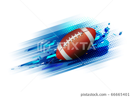 American Football Competition Tournament Stock Illustration 66665401 Pixta