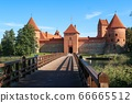 Bridge to Trakai Castle 66665512