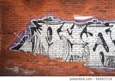 磚牆塗鴉 66665516