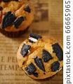 黑餅乾鬆餅(高角度) 66665965