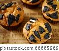 黑餅乾鬆餅(水平大角度) 66665969