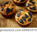黑餅乾鬆餅(水平位置) 66665970