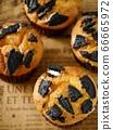 黑餅乾鬆餅(垂直大角度) 66665972