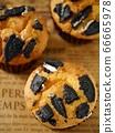 黑餅乾鬆餅(高角度) 66665978