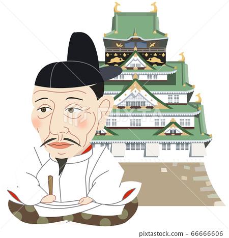 大阪城和豐臣秀吉 66666606