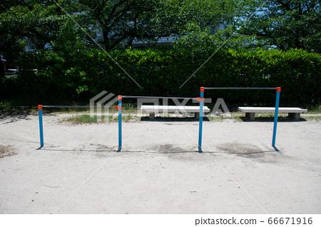 Park playground equipment 66671916