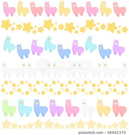 多彩的羊駝線集 66682370