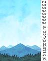山水彩藍 66696992