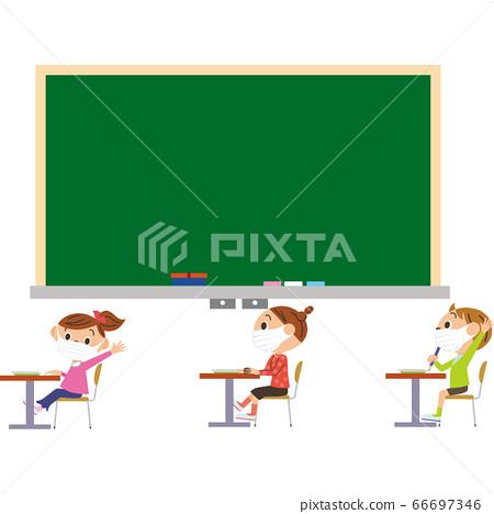 兒童在學校教授預防感染的方法 66697346