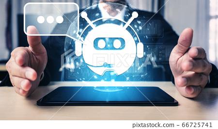 AI Chatbot smart digital customer service 66725741