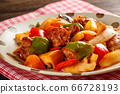 sweet and sour pork 66728193