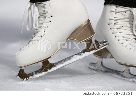 피겨 스케이팅 포즈 여자 스케이터 66733851