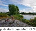 자전거 산책, 하천 66739970