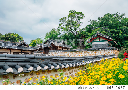 Ganghwa island old village, Yeongheung Palace Korean traditional architecture in Incheon, Korea 66741027