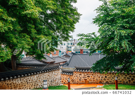 Ganghwa island old village, Yeongheung Palace Korean traditional architecture in Incheon, Korea 66741032