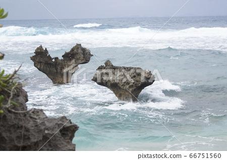 티누 바닷가 하트 자물쇠 66751560