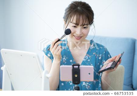 化妝視頻發行 66753535