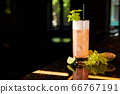 Cocktail with celery, lime and ginger 66767191