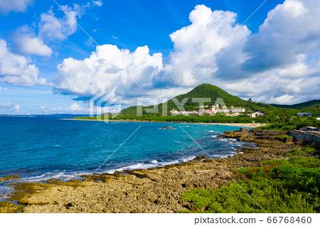 臺灣屏東墾丁小灣沙灘Taiwan Pingtung Kenting Xiaowan Beach 66768460