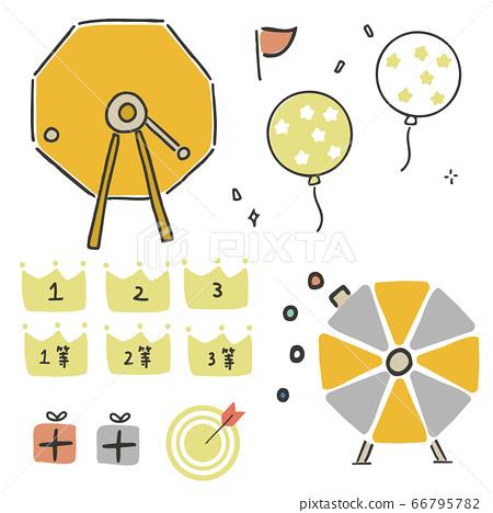 Garapon drawing machine 66795782
