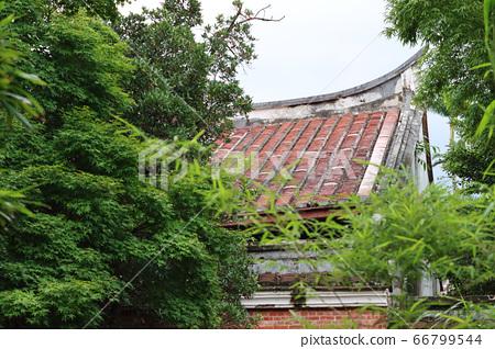 樹林裡的台灣傳統房屋 66799544