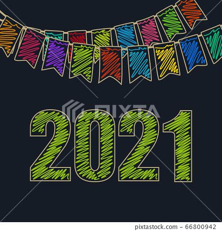 new year background 2021 stock illustration 66800942 pixta pixta