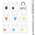 購物袋和環保袋01的插圖 66808011