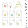 購物袋和環保袋02的插圖 66808012