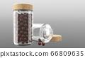 3D Bottle rendering 66809635