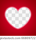 heart sign on red background 66809722