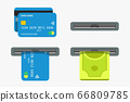 atm set on white background 66809785