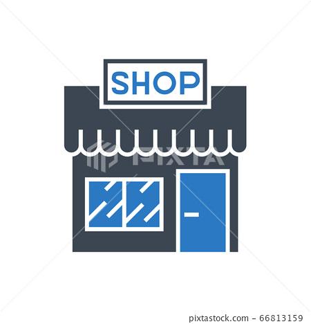 Store Vector Glyph Icon 66813159